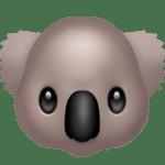 【絵文字】コアラ Koala