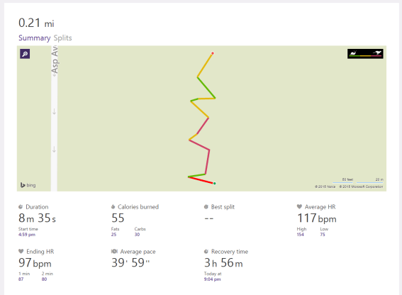 Workout from Microsoft