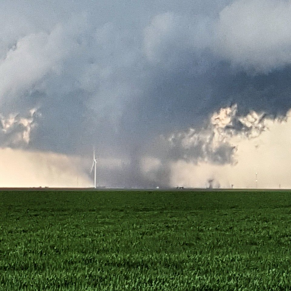 Tornado Near Panhandle, TX