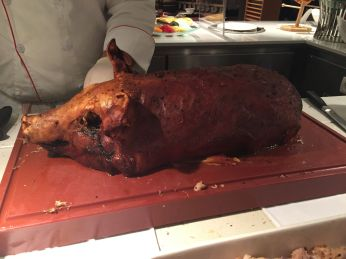 Suckling Pig - how did they do this on a cruise ship?