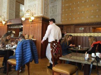 Inside Cafe Imperial
