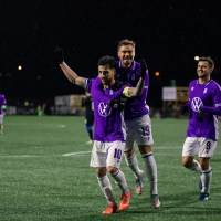 Purple Rain: Pacific FC continue push for home playoff game with performance to remember in 5-1 victory over FC Edmonton at Starlight Stadium