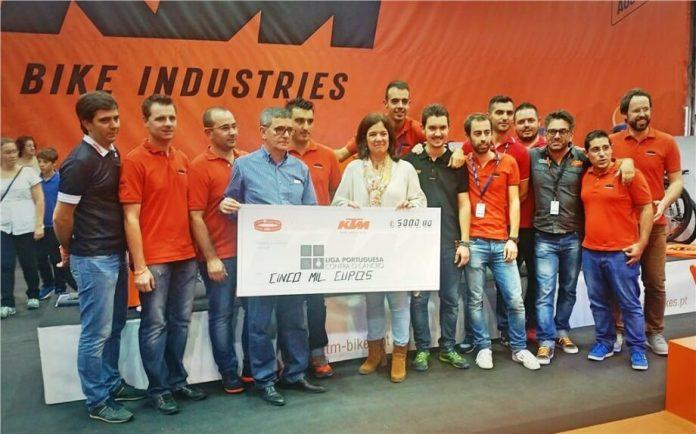 KTM Bike Portugal encerra campanha Superar a Pedalar