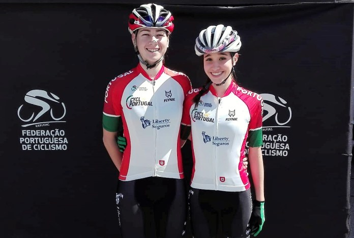 Uci Junior Series | Daniela Campos Terceira Classificada Em França