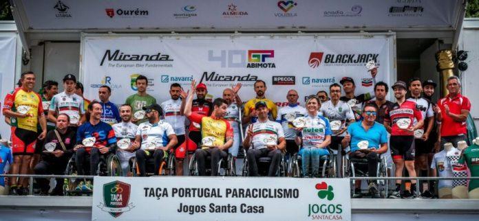 Pelotão De 27 Disputa Taça De Portugal De Paraciclismo Em Lisboa