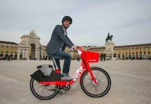 Lisboa foi a primeira cidade europeia a receber as bicicletas eléctricas JUMP