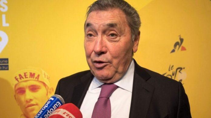Eddy Merckx Hospitalizado Devido A Uma Queda De Bicicleta   Eddy Merckx Eddy Merckx Queda
