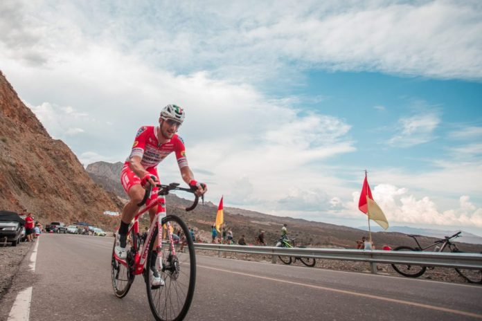 Nelson Oliveira sobe ao quarto lugar da Volta a San Juan 2020