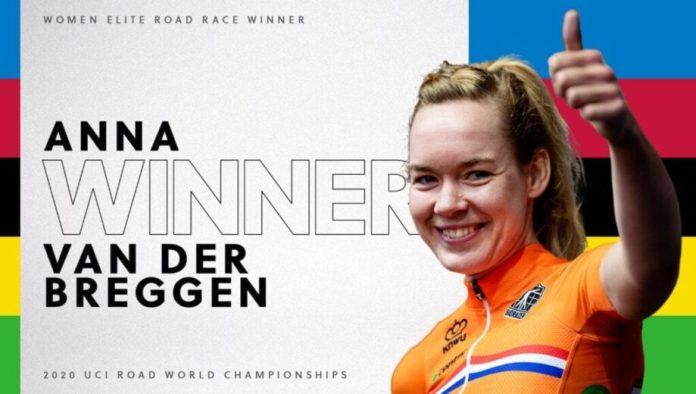 A Holandesa Anna Van Der Breggen Sagrou-Se Hoje Campeã Mundial De Fundo, No Terceiro De Quatro Dias Dos Mundiais De Ciclismo De Estrada Em Imola