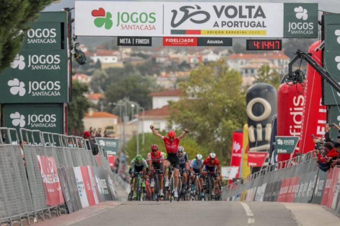 Daniel Mclay Vence A 5ª Etapa Da Volta A Portugal Edição Especial Jogos Santa Casa
