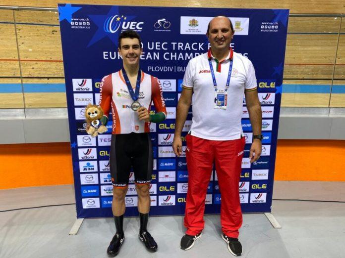 Campeonato Da Europa De Pista   Iuri Leitão Conquista Medalha De Prata Em Eliminação
