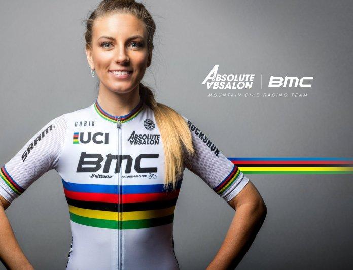 Pauline Ferrand-Prevot na Absolute Absalon - BMC Team em 2021