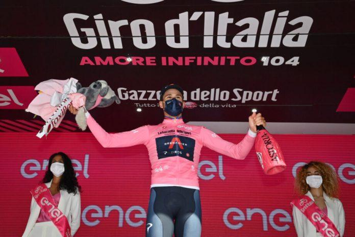Filippo Ganna Vence 'Crono' Inaugural Do Giro D'italia, João Almeida Quarto