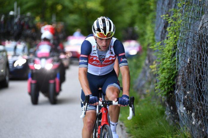 Giulio Ciccone Abandona O Giro Devido A Ferimentos Na Queda De Ontem