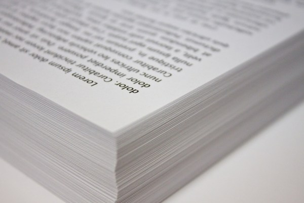 Picture of a thick book