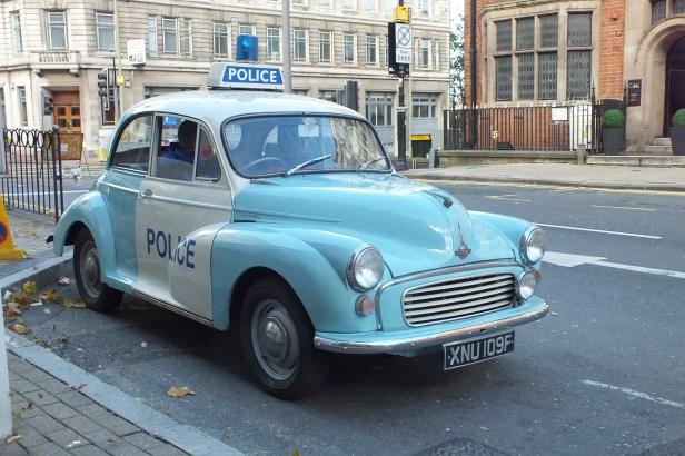 Morris 1000 'panda' car