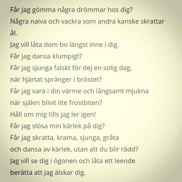 Du... (dikt av Sigrid)