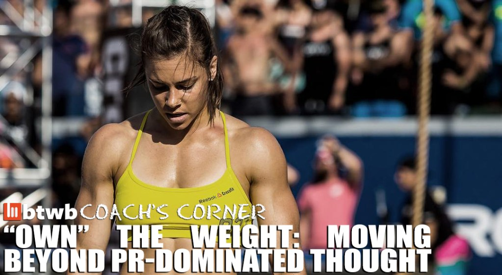 """""""Own"""" The Weight: Moving Beyond PR-Dominated Thought"""