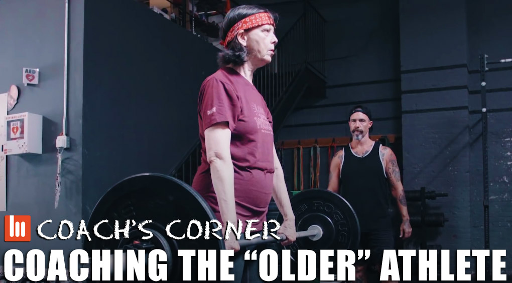 "Coach's Corner: Coaching The ""Older"" Athlete"