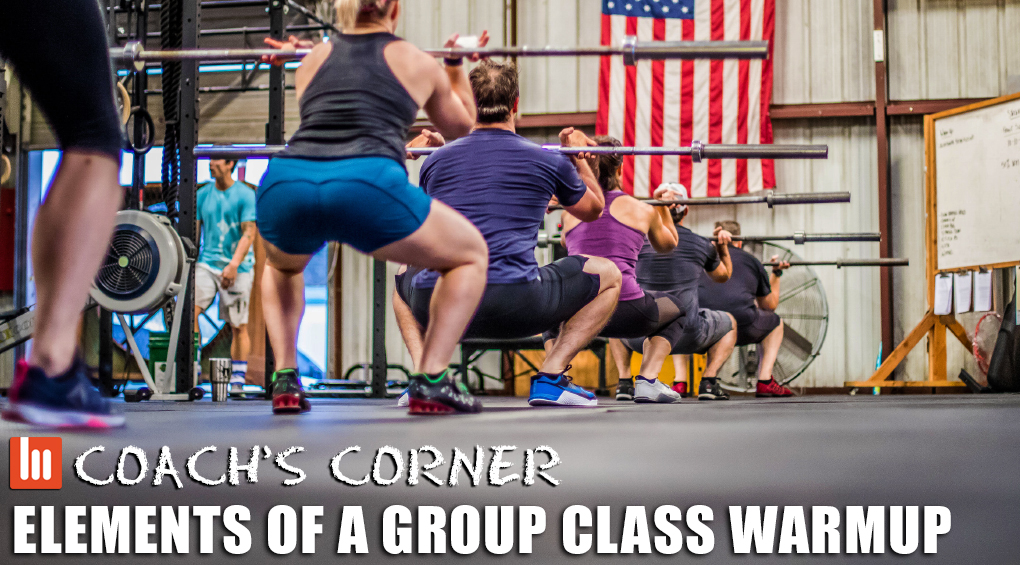 Coach's Corner: Elements of a Group Class Warmup