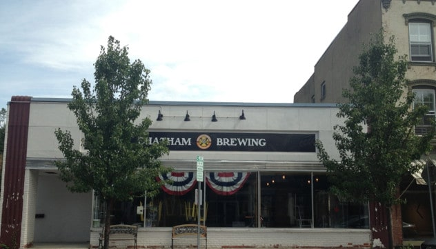 Chatham Brewery is making a name for itself. Photo by Kate Abbott