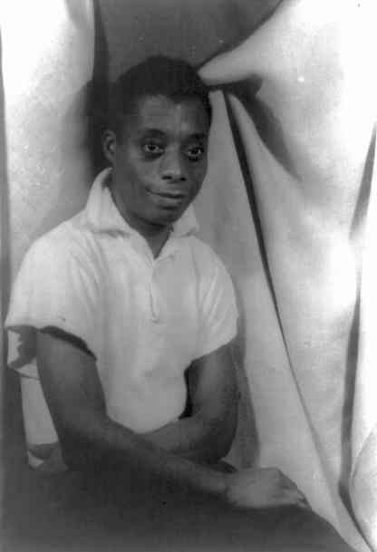 James Baldwin as a young man. Photo by Carl Van Vechten, now in public domain