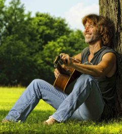 Folk singer / songwriter John Flynn will perform at the Guthrie Center in Great Barrington. Photo courtesy of John Flynn.