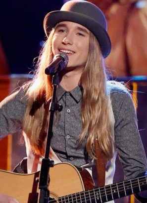 Singer / songwriter Sawyer Fredericks, above, performed at Falcon Ridge this weekend for the first time. Courtesy photo by Sophia Alvlyxcy.