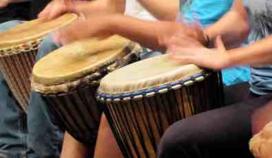 Honoring Women in Drum and Dance: World marketplace, silent auction, nature info displays at 6 p.m. and showing of the Tamarack Hollow video in the theater, 6:30, and performance 7 p.m. with more than 75 drum and dance artists including Puertominicana, Middle Eastern Frame/Doumbek drums, Berkshire Pulse Drummers and Dancers on West African Doun Doun and Haitian drum, Youth Alive Step and Drum Team, Berkshire & Valley Rhythm Keepers' Bucket fusion and funk, Serenity Circles hoop dance, West African and Caribbean, Sifer rock music with guests Tommy Brown and Chris Hairston, Satya and Chupungu Mbira with South Africa and Zimbabwen rhythms, and the OffBeat Womyn's Drumming Ensemble. Benefit to support the Tamarack Hollow Nature and Cultural Center's year round environmental education to build a sustainable nature and cultural education center and to continue to conserve 32 acres of highland boreal forest in Windsor. Berkshire Community College Boland Theater in the Koussevitsky Arts Center, Pittsfield. Photo courtesy of Tamarack Hollow, tamarackhollownatureandculturalcenter.org