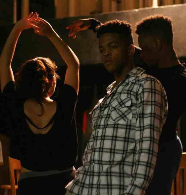MCLA theater students perform Passing Strange. Photo courtesy of MCLA
