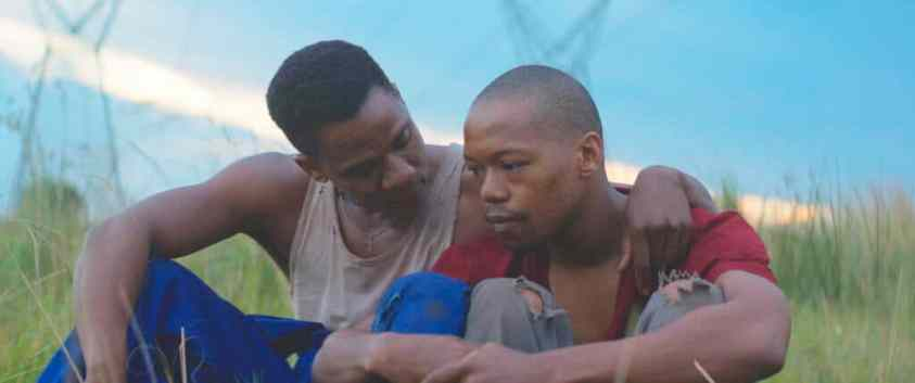 In a new tale filmed in South Africa's Xhosa territory, Xolani, a factory worker from the city, mentors Kwanda, a boy from a wealthy family in Johannesburg. Image courtesy of FilmColumbia