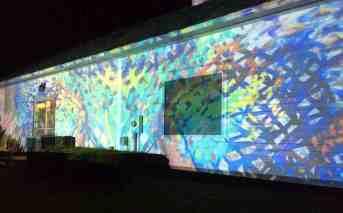 Becket sculptor and installation artist Joe Wheaton will create a light show with Lauren Clark's gallery.