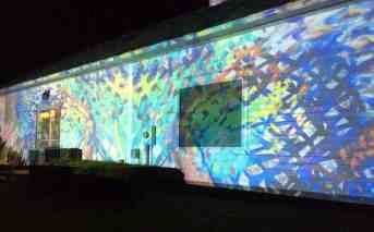 Becket sculptor and installation artist Joe Wheaton will create a light show with Lauren Clark's gallery.