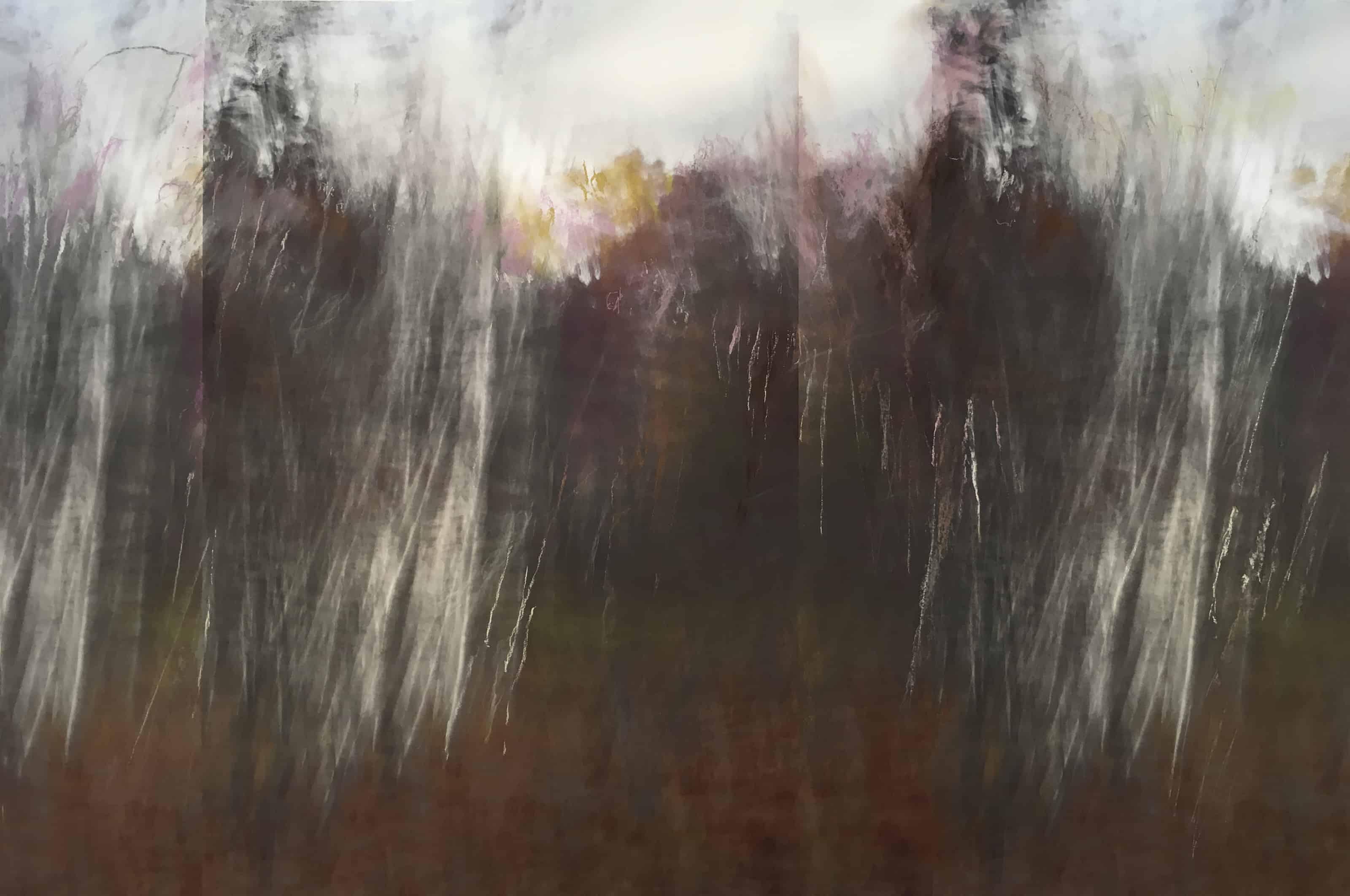 John Clark's abstractions, courtesy of the Sohn Gallery in Lenox