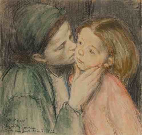 Nourse's 'The Kiss —The Clark Art Institute will take a close look at the collection