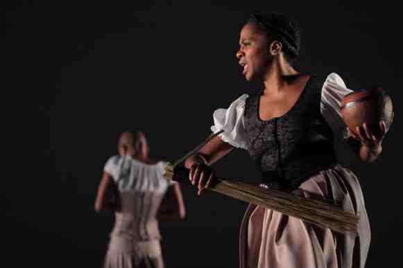 Dada Masilo's Giselle. 26 April 2017, The Dance Factory, Johannesburg. Dada Masilo's GISELLE will have its World Premiere in Oslo, Norway on May 4th. In South Africa, it will Preview at the UJ Theatre in Johannesburg on June 24th and 25th. And have its South African premiere at the National Arts Festival in Grahamstown on June 29th to July 1st. Choreography - Dada Masilo Music - Philip Miller Dancers: Dada Masilo, Kyle Rossouw, Llewellyn Mnguni, Tshepo Zasekhaya, Khaya Ndlovu, Liyabuya Gongo, Ipeleng Merafe, Nadine Buys, Zandile Constable, Thabani Ntuli, Thami Tshabalala, Thami Majela. Lighting: Suzette le Sueur Photograph: John Hogg