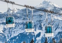 Kabelbaan Gondel Skilift Bergen Alpen