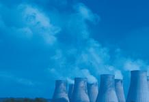 thermo-elektrische centrale koeltoren
