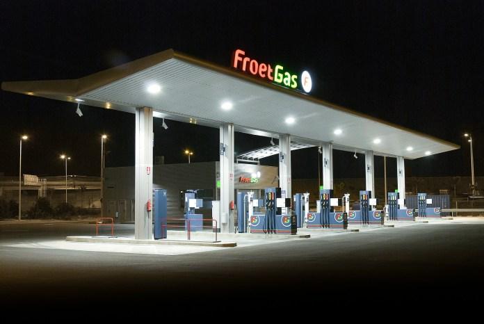 Froet Gas Benzinestation Benzine Korting