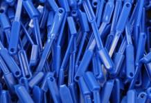 Plastic Industrie Chemische Productie Bouwstenen Borstels