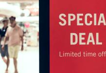 Special Deal Korting Coupon Prijsvermindering