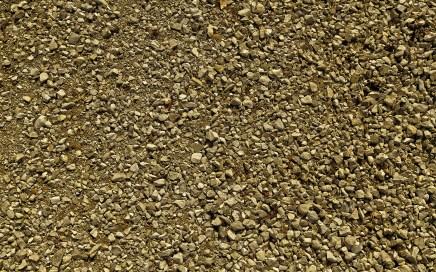 perceel grond stenen kiezels