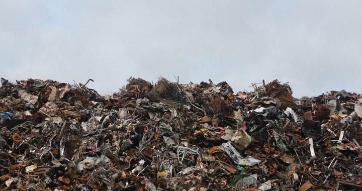 afval op afvalberg