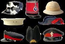 militaire hoeden petten leger memorabilia