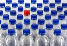 Flessen Plastic Recycling Verontreiniging Vuilnis