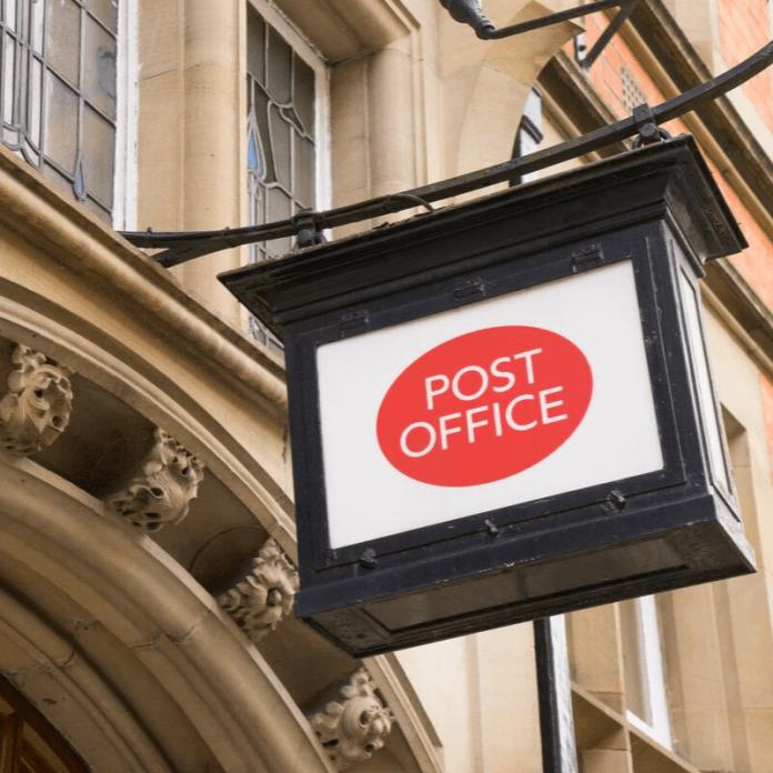 Postgebouw Postkantoor
