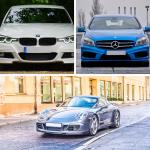 BMW Mercedes Porsche
