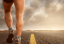 Hardlopen op de openbare weg
