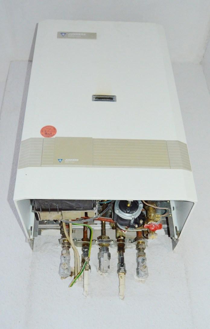 Verwarming Gas Boiler Vloerverwarming Junkers