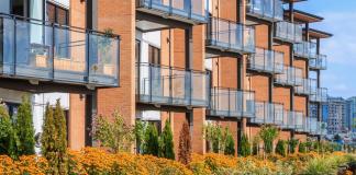 Gebouwen woningcomplexen flats